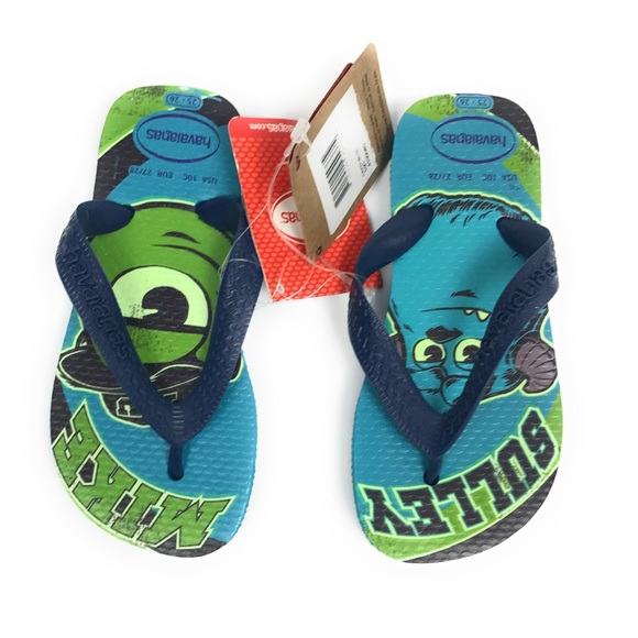 4be9614c12bf Havaianas Disney Kids Monster Inc Flip Flops